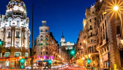 viajes para espana: