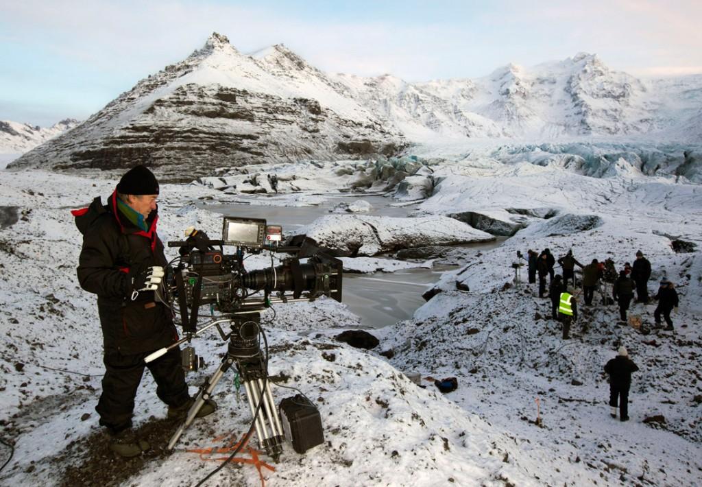 Rodaje en Islandia