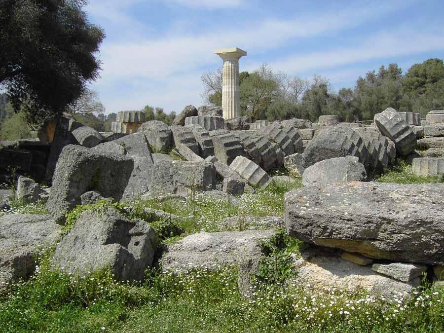 Ruinas del Templo de Zeus