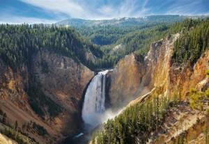 cascadas de yellowstone