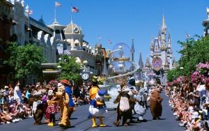 Magic Kingdom, Disneyworld, Disney World, Orlando, Florida, USA